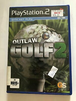 PLAYSTATION 2 PS2 GAME | OUTLAW GOLF 2 | PAL - Free Shipping!