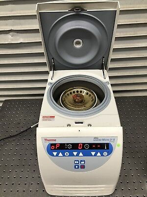 Thermo Fisher Scientific Sorvall Legend 21R Refrigerated Centrifuge with Rotor