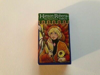 Hanson-Roberts 78 Tarot Card Deck by Mary Hanson-Roberts, Very Good Condition