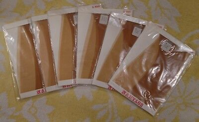 Vintage Size 9,5'' Seam Free Micromesh Nylon Stockings Strumph 20 DEN Offer