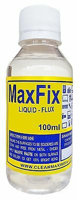 MAXFIX LIQUID FLUX  -100ml Soldering Electric & Electronic Components Free Ship