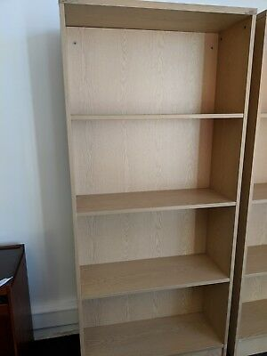 Ex Hire Solid Bookcase