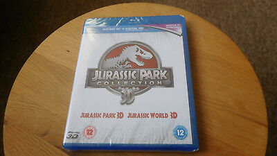 Jurassic Park Collection 3D Bluray, Both Jurassic Park and Jurassic World In 3d