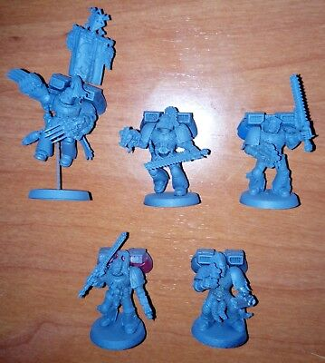 W40k - Space Wolves: 5x Space Wolves with jump pack (SELECT ONE)