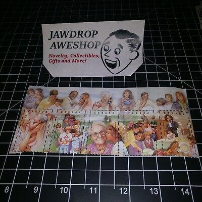 1994 RARE CANADA STAMPS 43 CENT International Year of the Family PLATE (DAMAGE)