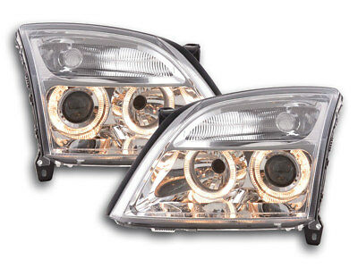Scheinwerfer Angel Eyes Opel Vectra C Bj. 02-04 chrom