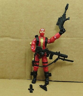 "3.75"" Gi Joe Cobra Army Soldier  with Accessories Rare Action Figure #28"