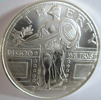 Standing Liberty Eagle .999 Fine Silver Commemorative Of 1916-1917 1 Troy Oz