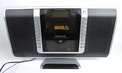 Sharper Image Cd Player Stereo Amfm Tuner With Remote Control