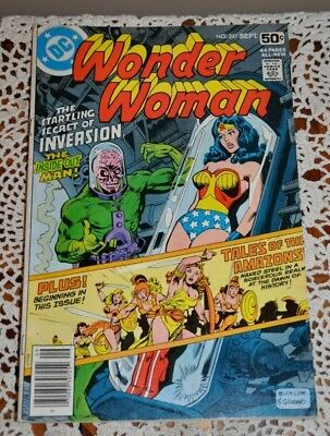 Dc Comic Book Wonder Woman #247 No. 247 1978 Vg Bronze Age
