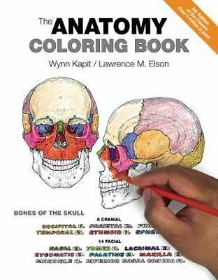 The Anatomy Coloring Book by Lawrence M. Elson and Wynn Kapit Paperback, 4th Ed