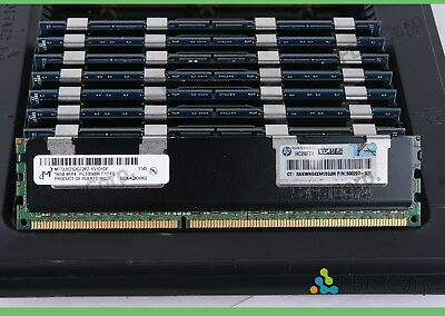 48GB 3x16GB DDR3 PC3L-8500R 4Rx4 ECC Server Memory RAM HP ProLiant DL380 G6