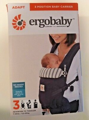 Ergobaby Adapt 3 Position Baby Carrier, Admiral Blue