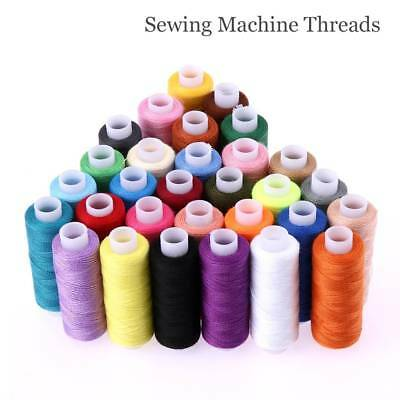 Sewing Thread Box 30X Roll Polyester Colors Kit Set Sewing Machine Home For DIY