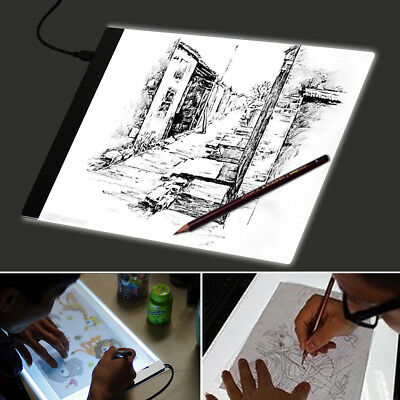 A4 LED Drawing Board Tracing Light Box Art Design Pad Copy Day&Light AU Ship