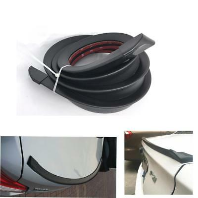 4.9FT/1.5M Universal Car Roof Trunk Spoiler Wing Lip Trim Sticker Fit Front Rear