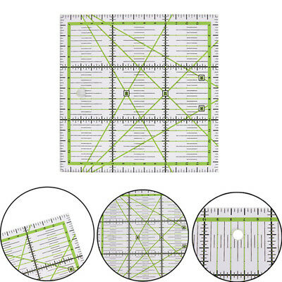 Useful Premium Acrylic Quilting Patchwork Ruler Square Craft Sewing Accessory HQ