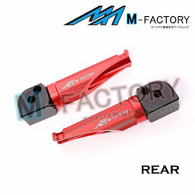 Fit MV Agusta F4 1000R / S All Year Red Passenger Footpegs Footrests