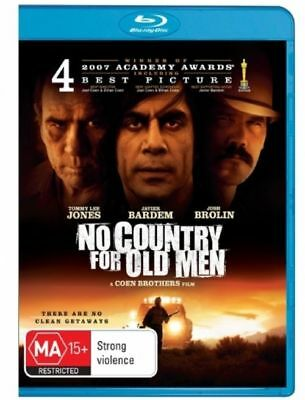 No Country For Old Men Blu-Ray NEW