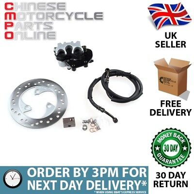 Combined Braking Upgrade Kit for WY125T-74R-E4 (BRKKIT103)