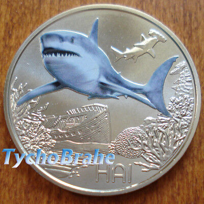 3 euro AUSTRIA 2018 SHARK HAI REQUIN Animals Colourful Creatures AUTRICHE SQUALO