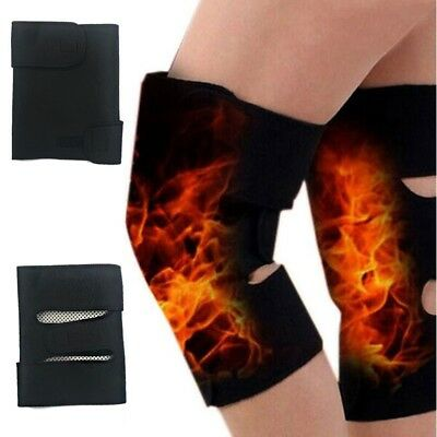 Tourmaline Self Heating Knee Pads Magnetic Therapy Pain Relief Arthritis Brace