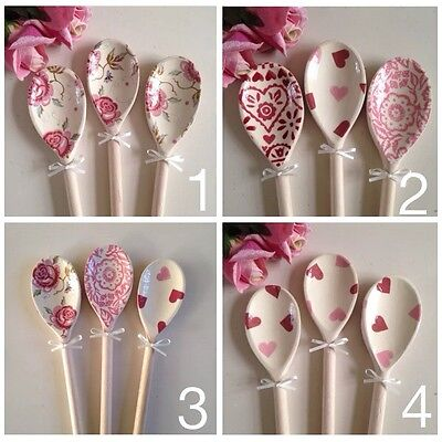 Emma Bridgewater Hens Chickens Decorative 3 Wooden Spoons Kitchen Gift wrapped