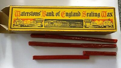 Waterstons Bank of England Sealing Wax