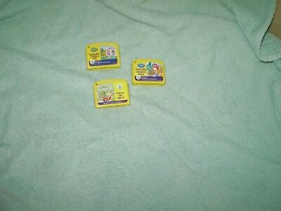Leap frog my first lead pad cartridges only lot of 3! LQQK!