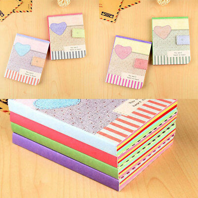 Cute Colorful Notepad Notebook Writing Paper Diary Memo Stationery Gifts*