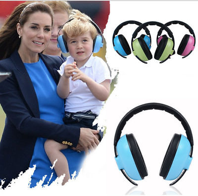 3 Colors Baby Childs Kids Ear Earmuffs Hearing Protection Adjustable Protector
