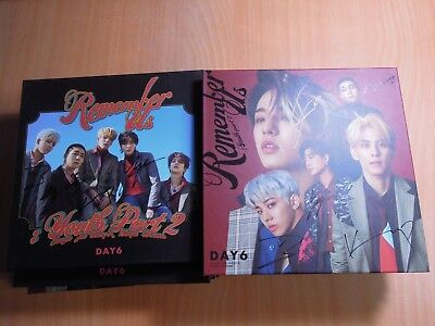 DAY6 - Remember Us (4th mini Promo) with Autographed (Signed)