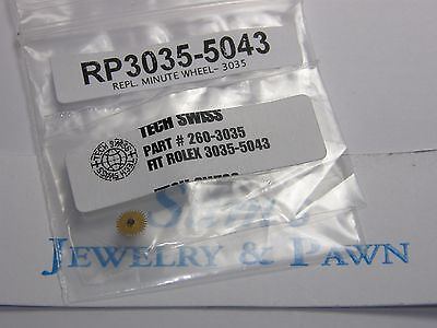 New Swiss Made Aftermarket Rolex 3030;3055;3075;3085 Minute Wheel  #RL-3035-5043