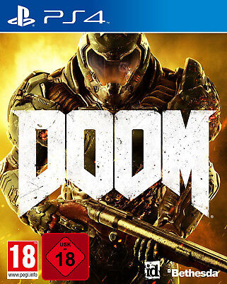 PS4 Spiel Doom 100% Uncut Day One Edition NEU&OVP
