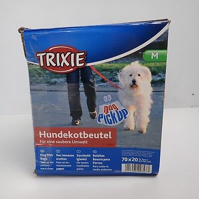 22843 Trixie Dog Dirt Bags - 20 Dog Poo Bags On A Roll (Pack of 70)