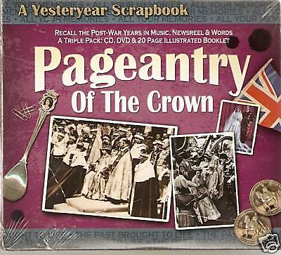 Pageantry Of The Crown Recall The Post-War Years In Music Dvd / Cd & Booklet