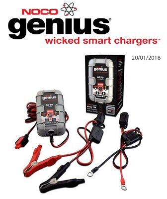 Victory Vision Tour 1800 2009 Noco Genuis UltraSafe Battery Charger (G750)