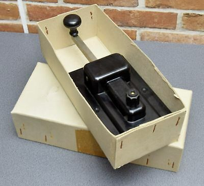 VINTAGE - telegraph KEY GREAT NORTHERN +original cardboard box/A 0280