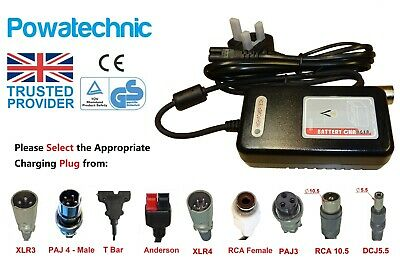 24V/30V 2A Electric Scooter Wheelchair Bike Golf Lithium Li-Ion Battery Charger