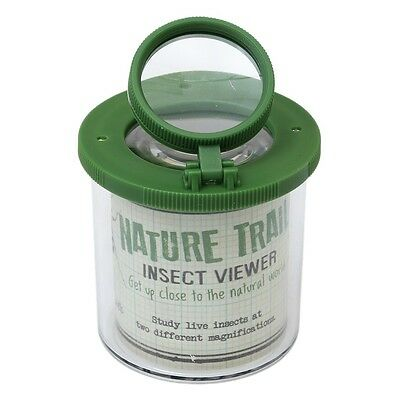 Rex London NATURE TRAIL INSECT LOUPE VIEWER & A PLASTIC SPIDER
