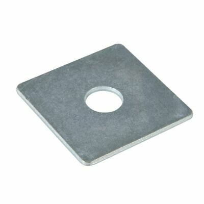 Fixman 542862 50mm x M12 Square Plate Washers 10pk