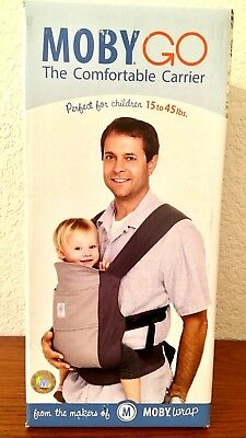 33ffdd6d8c1 Moby Go-The Comfortable Infant Carrier-Gray-New Must Have