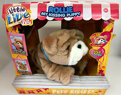 Little Live Pets Rollie My Kissing Puppy - New Damaged Box