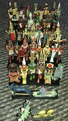 hachette gods of ancient egypt joblot 43 figures very good condition no boxes