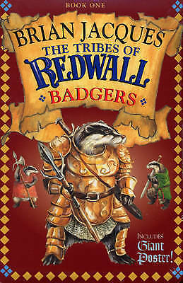 Tribes Of Redwall - Badgers - New Book Jacques, Brian