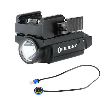 Olight PL-MINI 2 Valkyrie 600 Lumen Rechargeable Compact Tactical Pistol Light