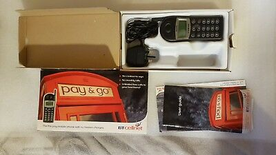 Vintage Boxed Mobile Phone Philips Savvy Diga Dual Band BT Cellnet With Manuals