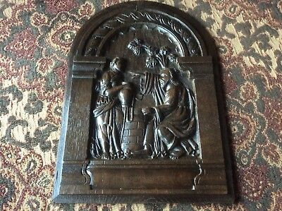 17th / 18th Century Carved Oak Panel