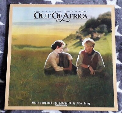 OUT OF AFRICA Jenseits von Afrika SOUNDTRACK (LP) MCA 252945-1 John Barry