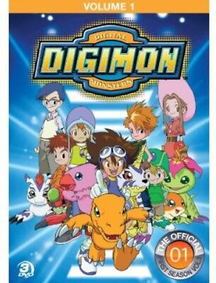 Digimon: Digital Monsters - The Offical First Season, Vol.  (DVD Used Very Good)